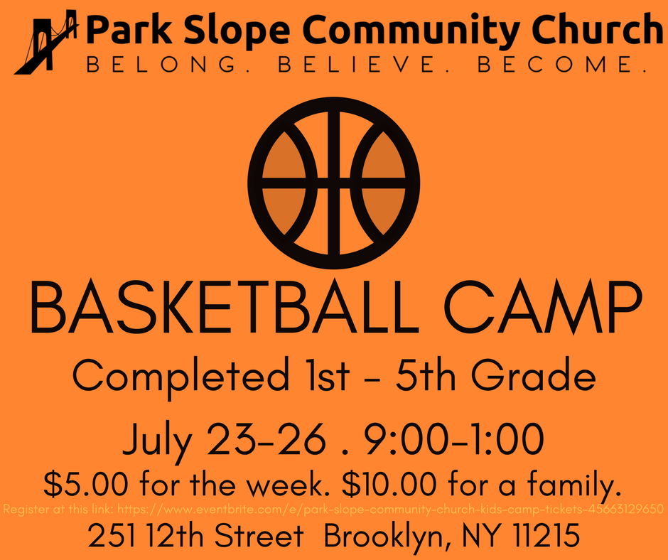 Park Slope Community Church Basketball Camp