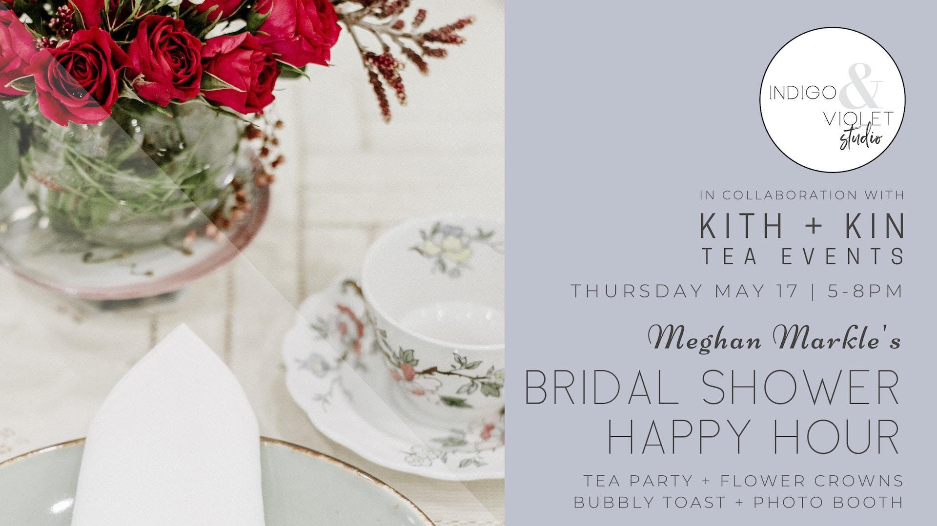 Royal Bridal Shower Happy Hour