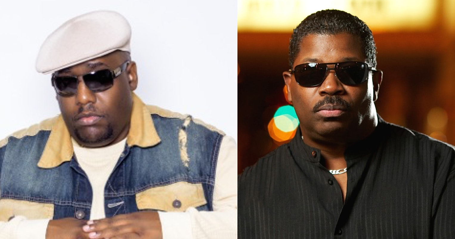 Kool Moe Dee and Steve Arrington