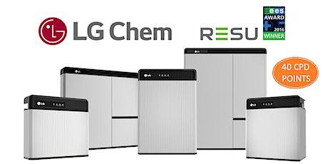 LG Chem Australia - RESU installer training webinar tickets