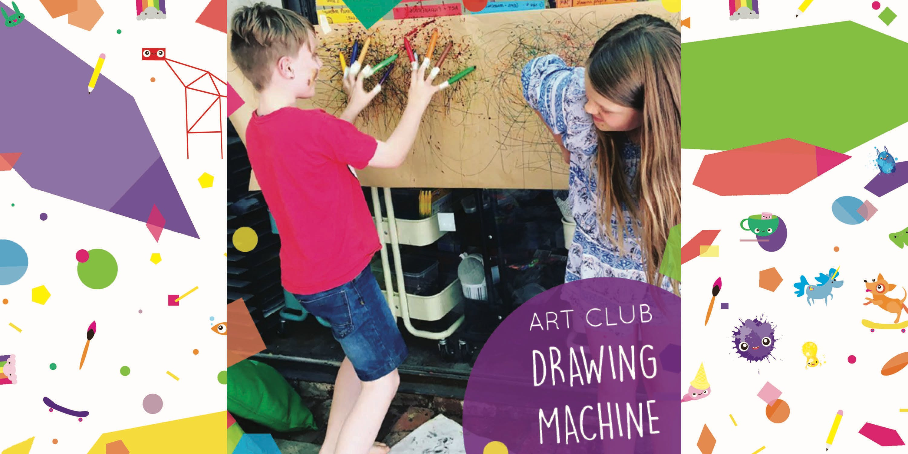 After School Art Club - DRAWING MACHINE