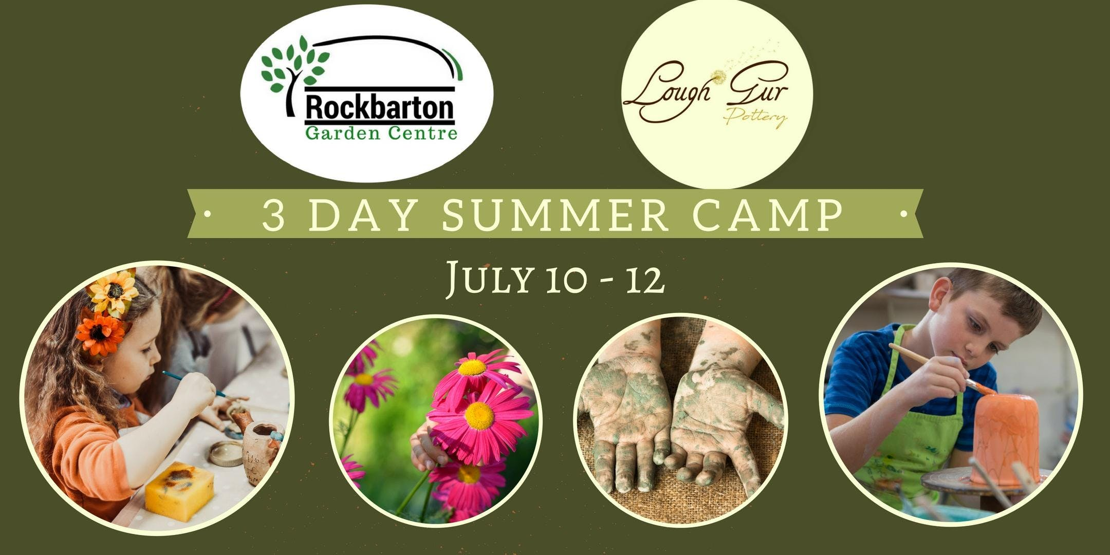 Pottery & Gardening Summer Camp July 2018