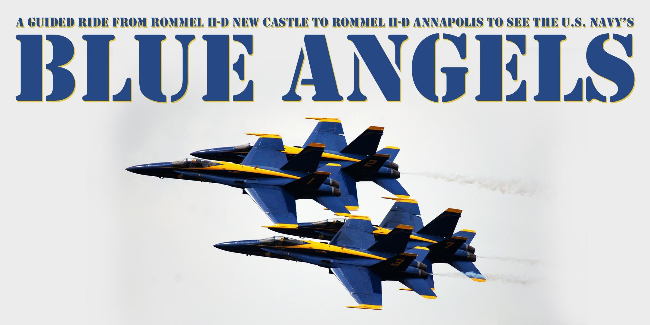 Ride to the Blue Angels