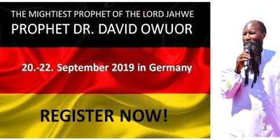 ENDTIME & REVIVAL CONFERENCE WITH PROPHET DR. DAVID OWUOR