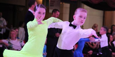 DanceSport tryout class for children 5-8 years old