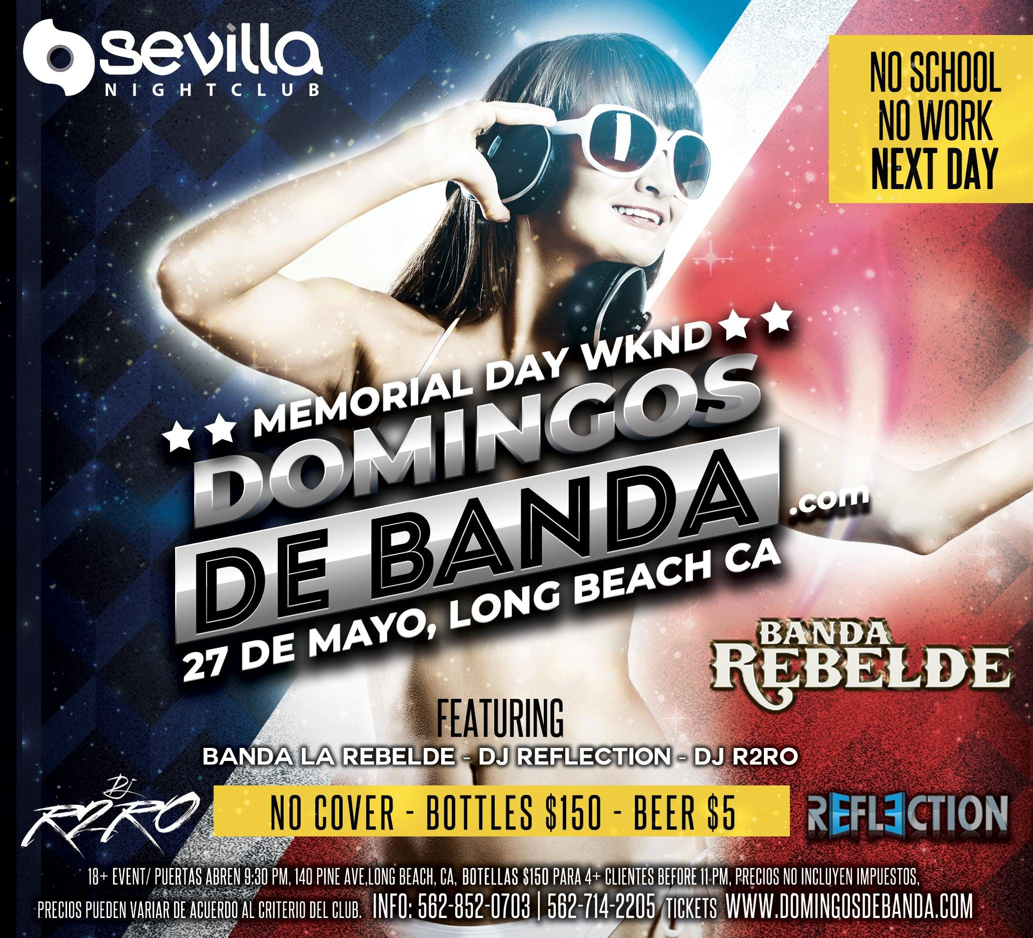 Memorial Day Wknd - SEVILLA #DOMINGOSDEBANDA