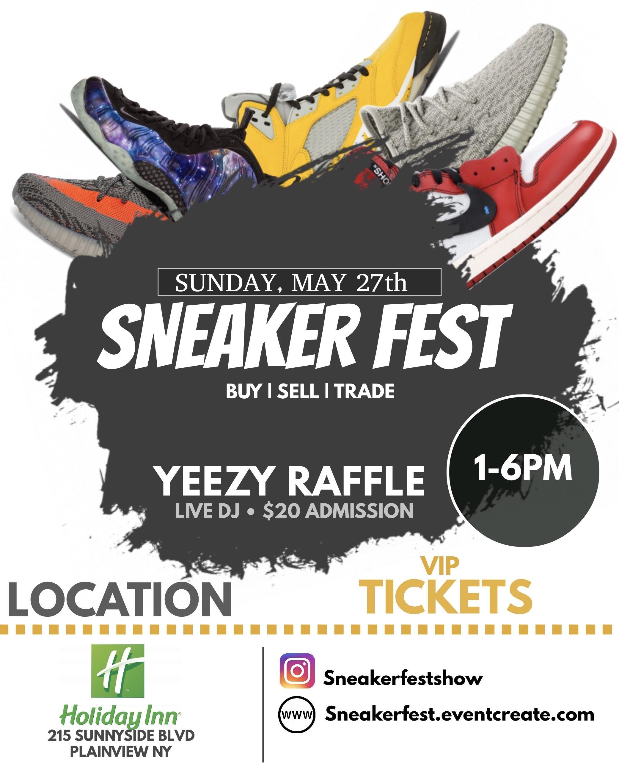 Sneaker Fest Long Island 27 May 2018