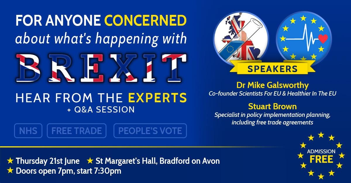Concerned about Brexit? Hear from Dr Mike Gal
