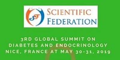 3rd Global Summit on Diabetes and Endocrinology