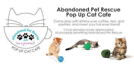 Pop Up Cat Cafe tickets