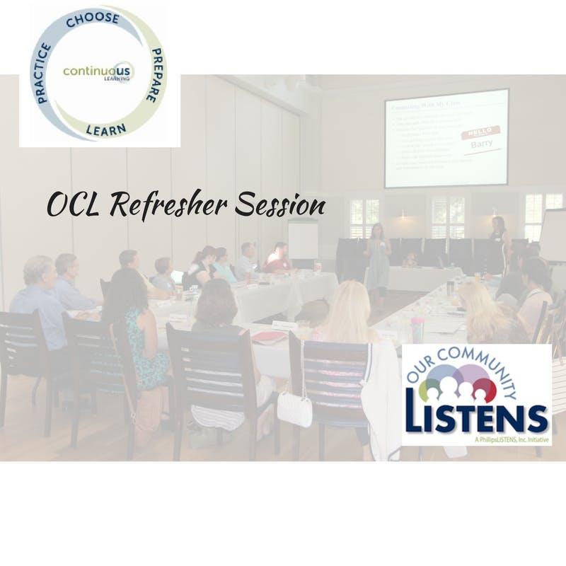 Refresher : Reflective Listening - DAYTIME