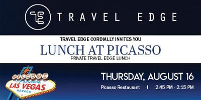 Travel Edge Lunch at Picasso