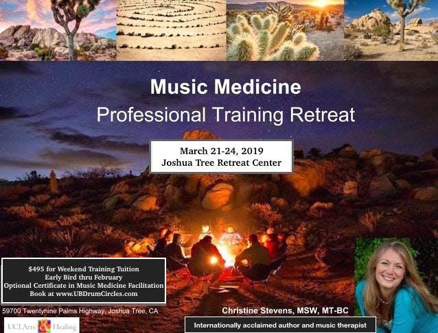 Music Medicine Training & Retreat (Certificat