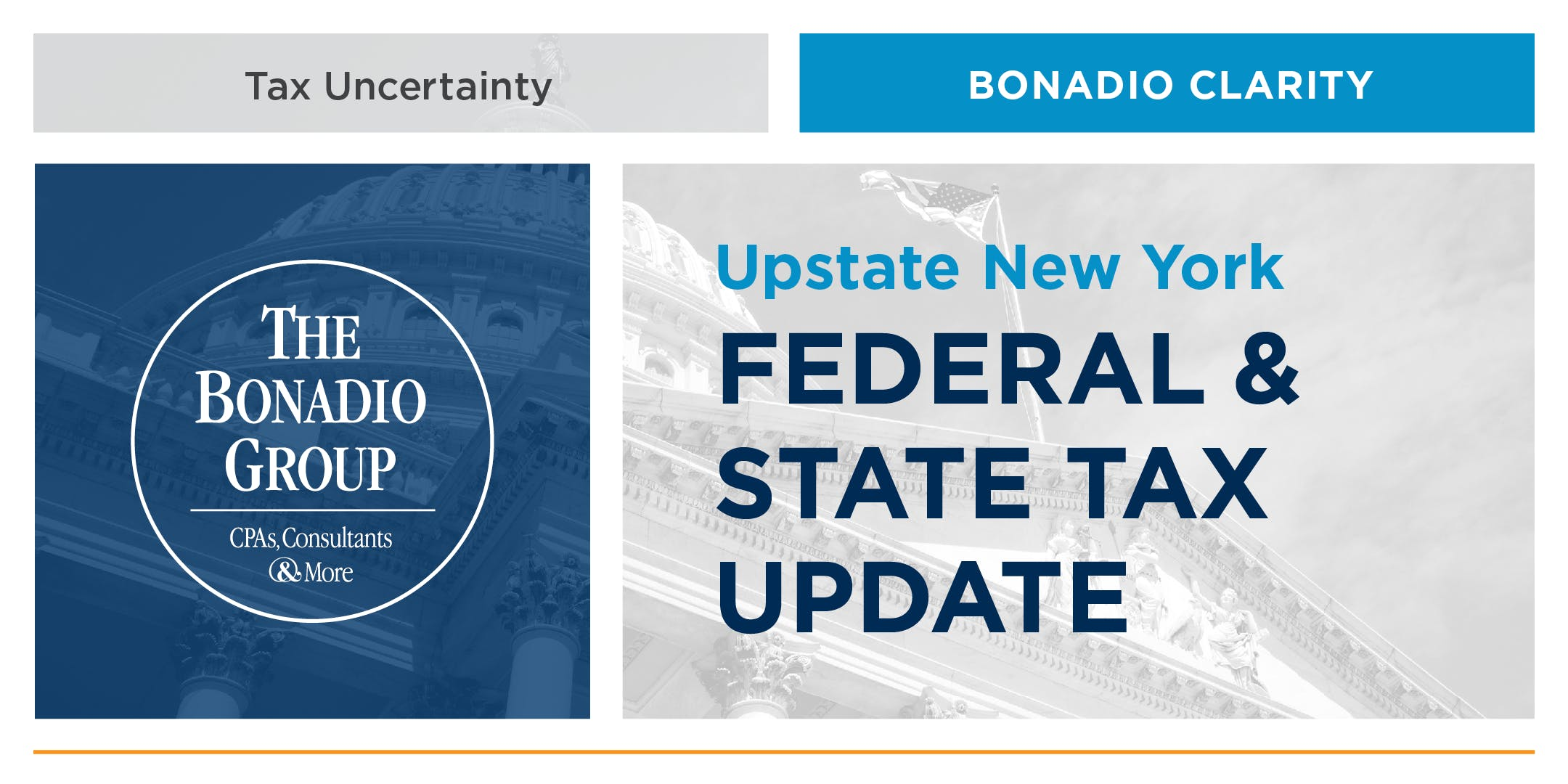 Upstate New York Federal & State Tax Update
