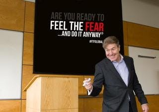 'Feel the Fear and Do It Anyway®️'  Personal Development Workshop
