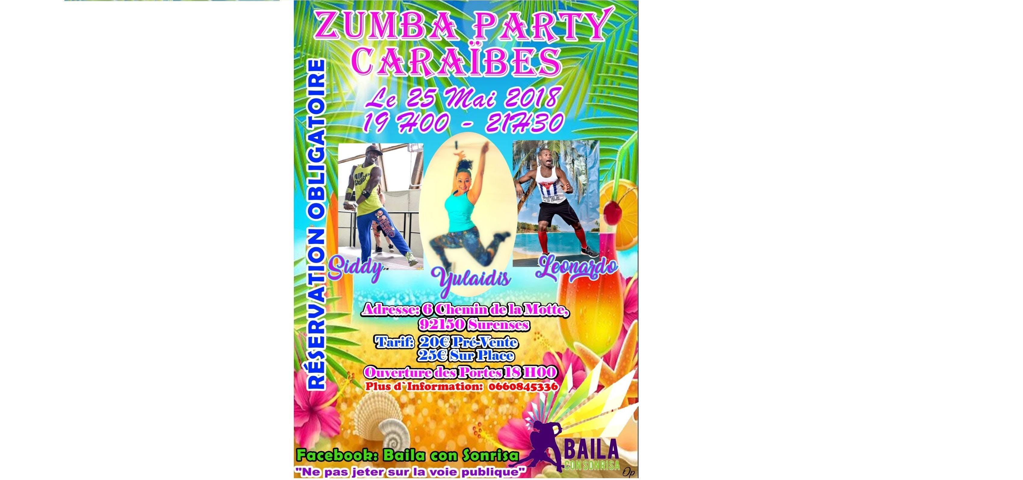 Zumba Party Caraibes