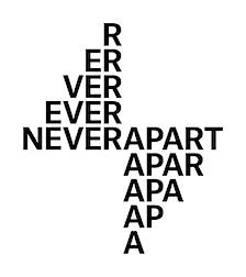 Never Apart logo
