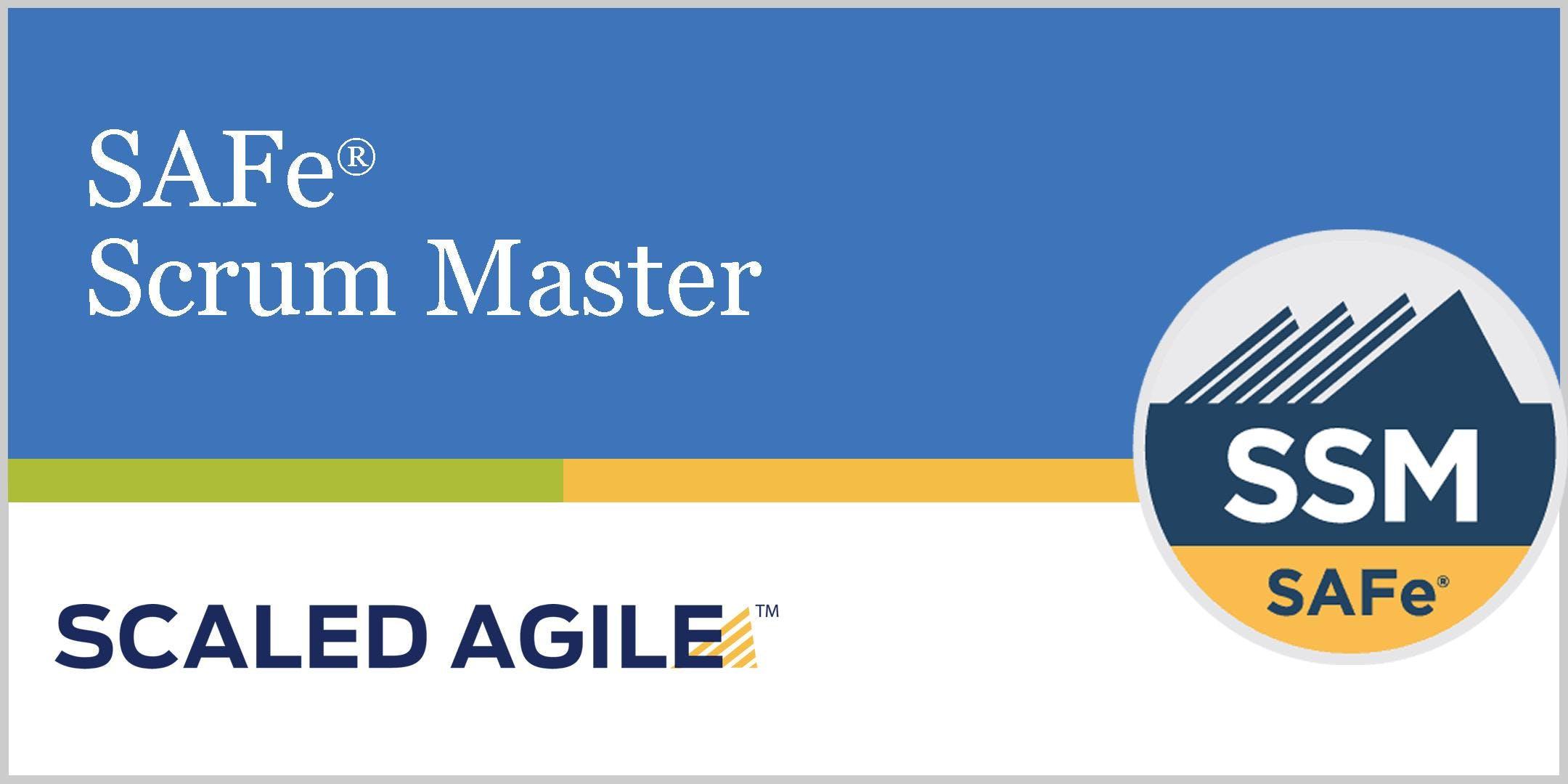 Scrum Master Training Ssm 45 Agile Certification Downtown