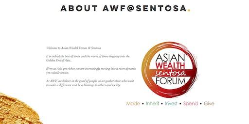 ASIAN WEALTH FORUM @ SENTOSA 2018, SPONSORSHIP