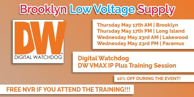 Digital Watchdog Training Session - May 23rd