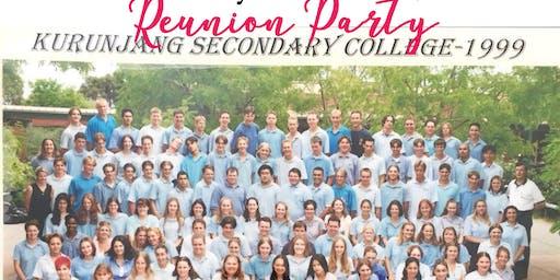 Kurunjang Secondary College Class of 1999 20 Year Reunion