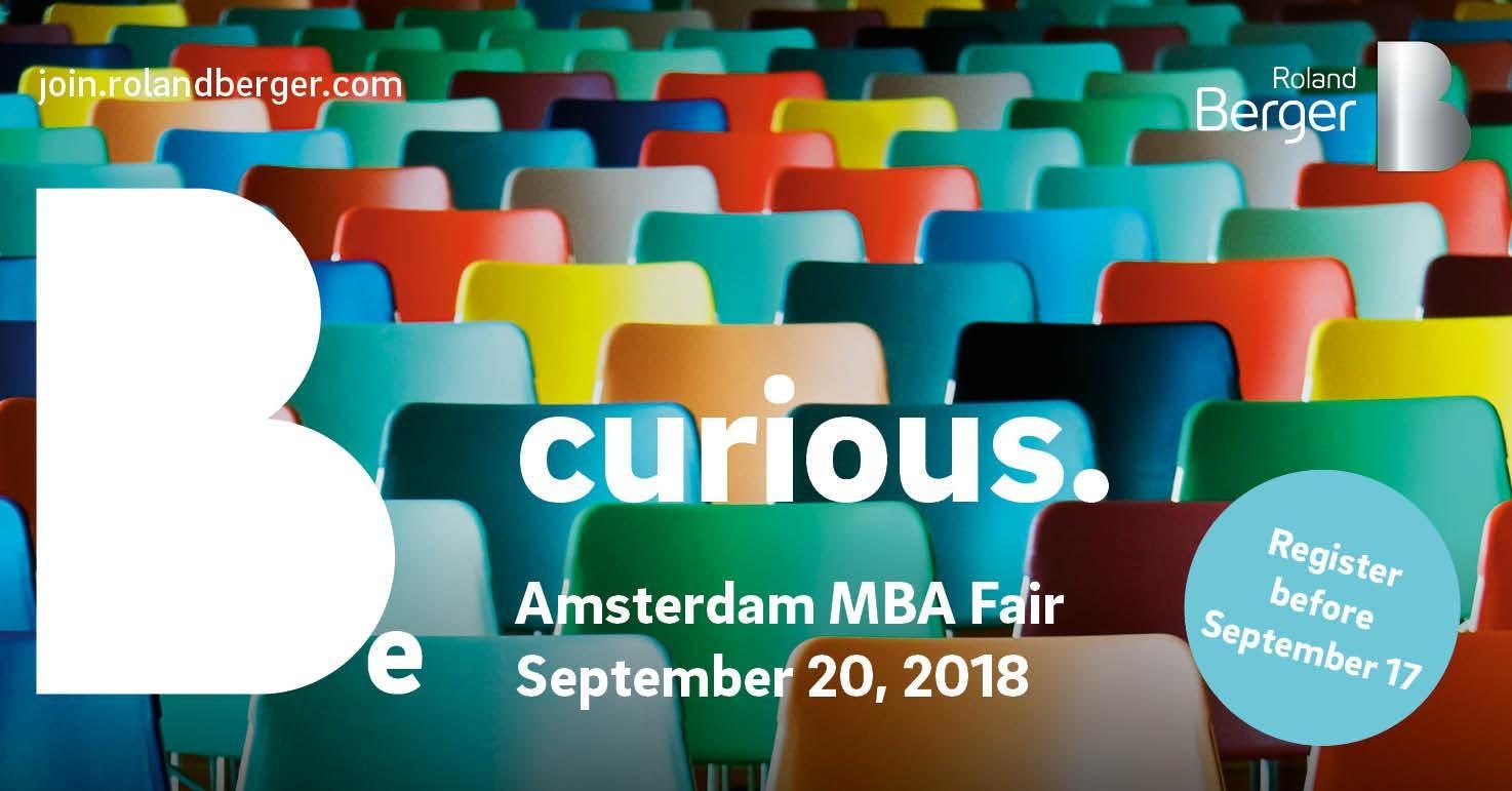 Amsterdam MBA Fair 2018