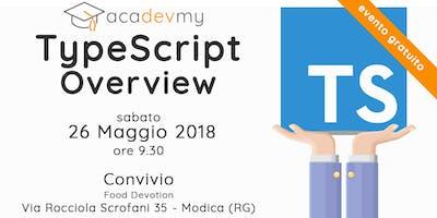 TypeScript Overview - Ragusa Edition