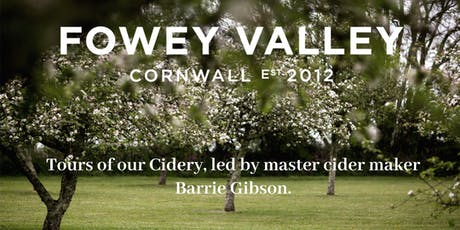 Fowey Valley Cidery Tour tickets