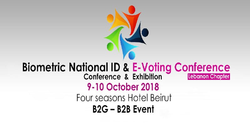 Biometric National ID &amp E-Voting Conference Lebanon Chapter