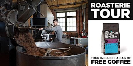 Roasterie Tour - Phil & Sebastian Coffee Roasters tickets
