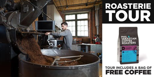 Roasterie Tour - Phil & Sebastian Coffee Roasters