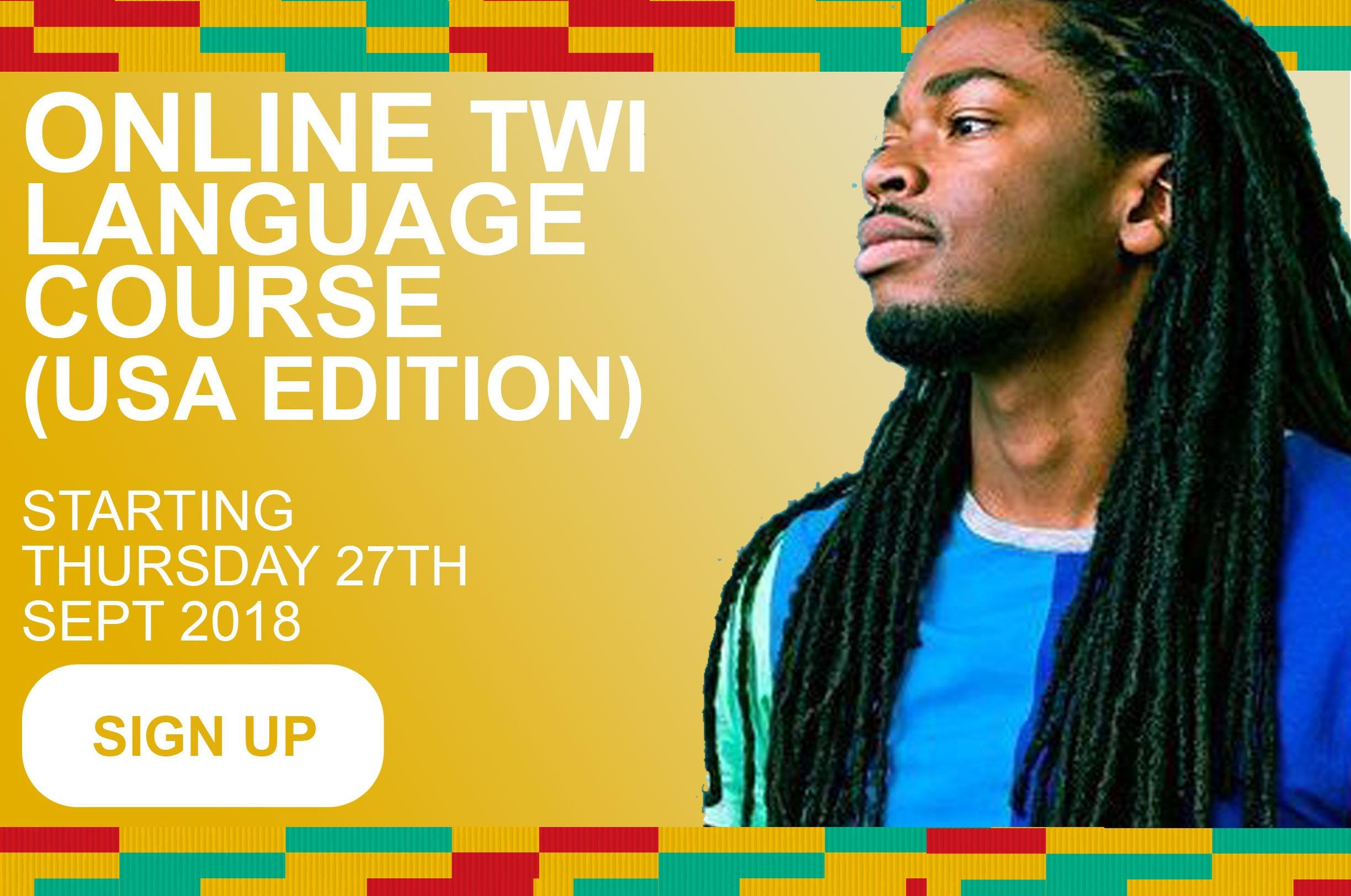 Online Twi Language Courses at the Ghanaian Language School (US)