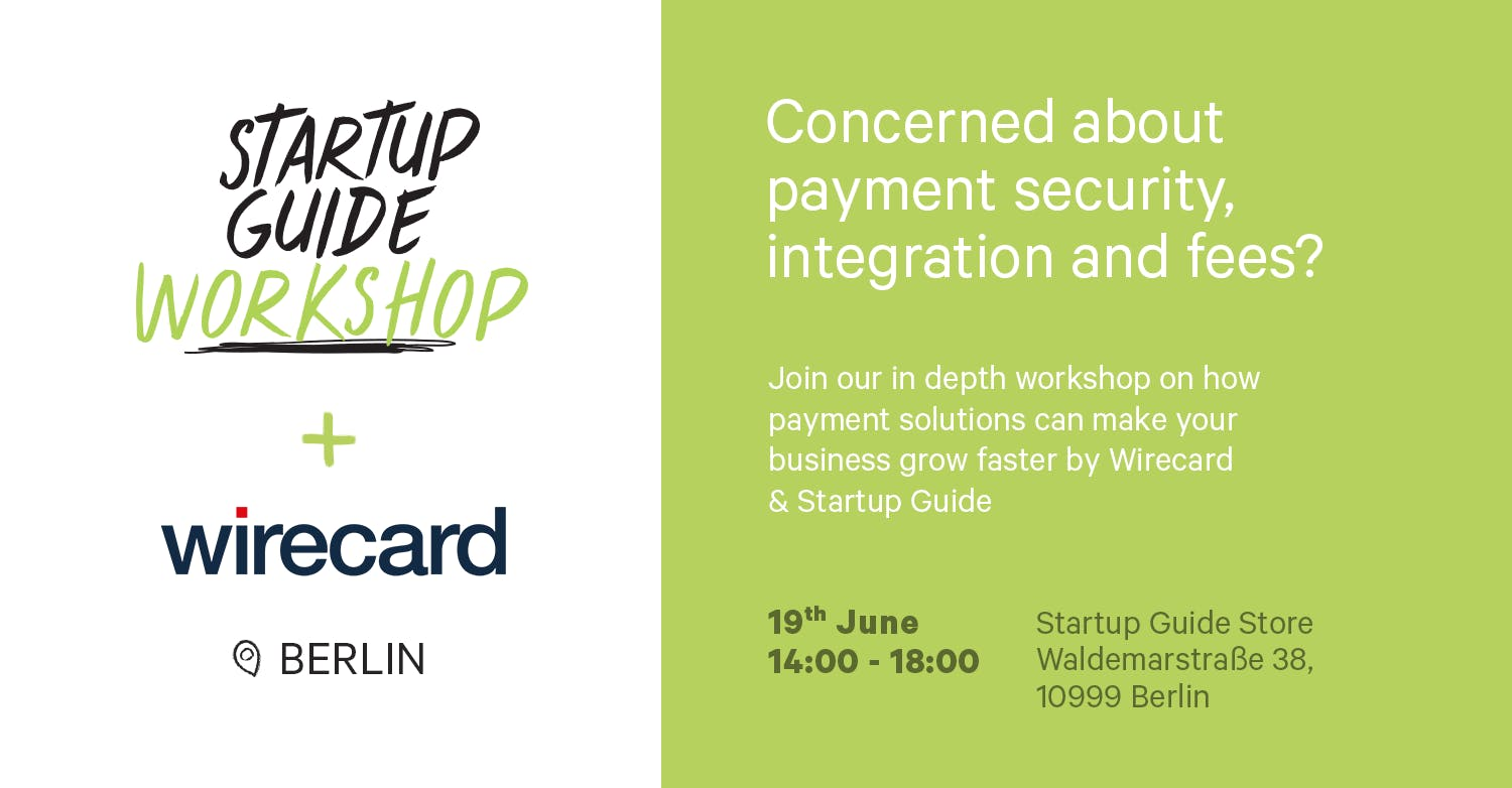 Startup Guide Workshop: Payment solutions wit