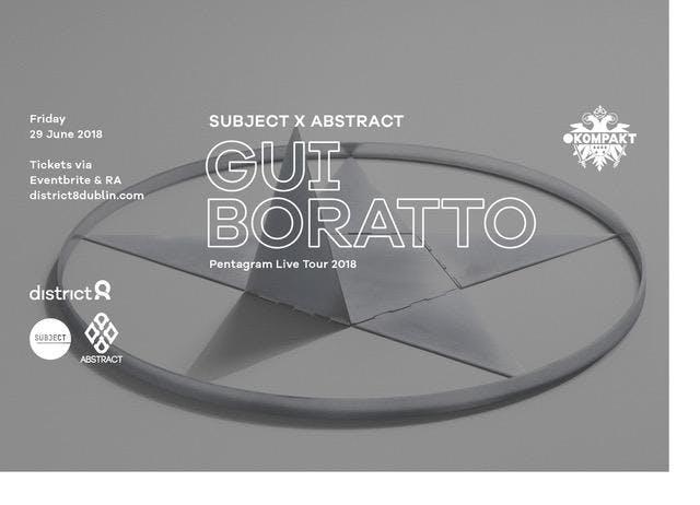 Gui Boratto at District 8