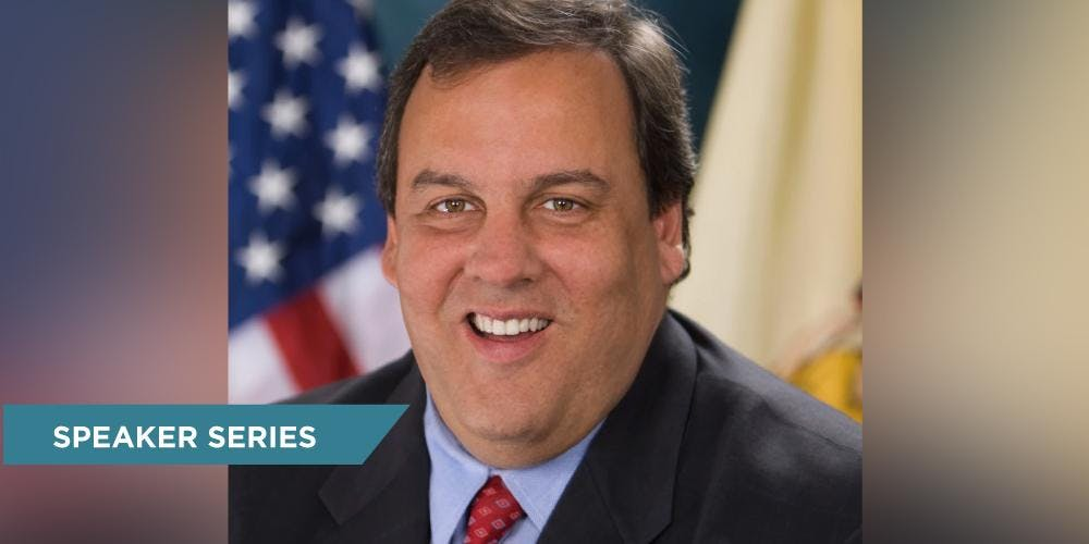 The Honorable Chris Christie