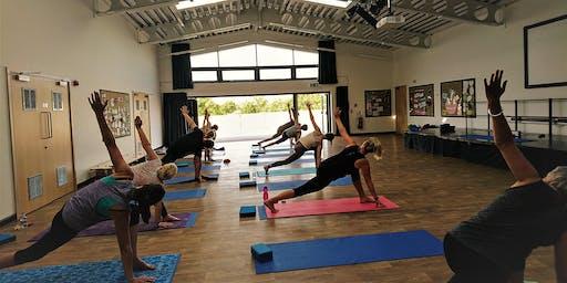 Do Yoga Wednesdays, 6pm at West Wick