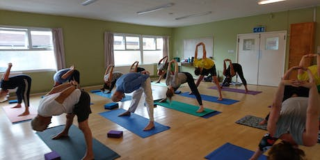 Do Yoga on Mondays at 6pm in Weston-super-Mare tickets