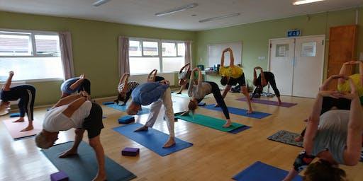 Do Yoga on Mondays at 6pm in Weston-super-Mare