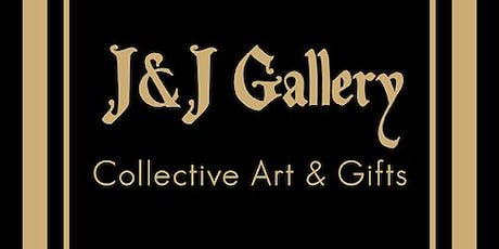 J&J GALLERY WEEKLY ART HAPPY HOUR & LIVE PAINTING tickets