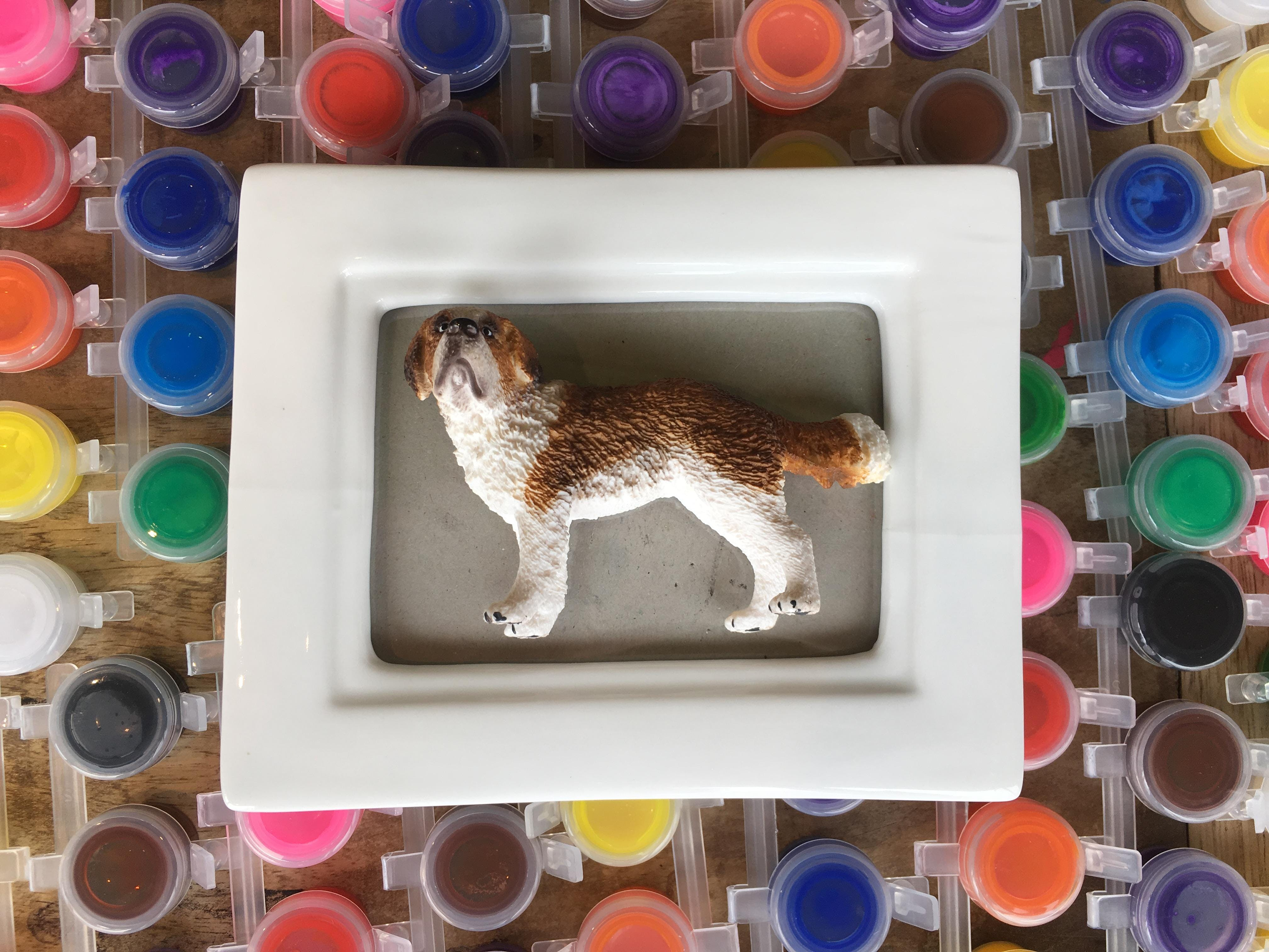 Make Take Paint Your Own Porcelain Picture Frame 12 May 2018