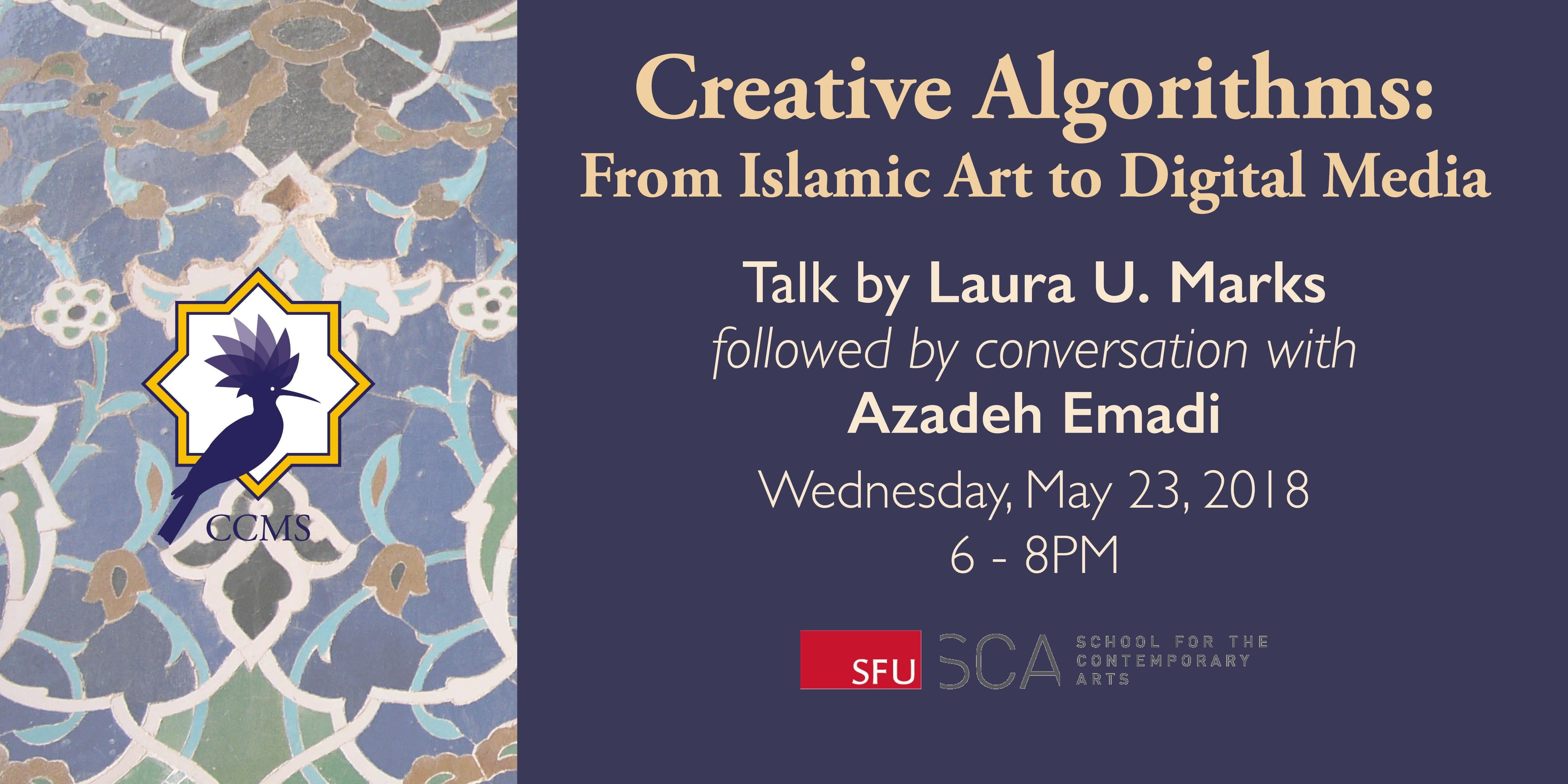 Creative Algorithms: From Islamic Art to Digi