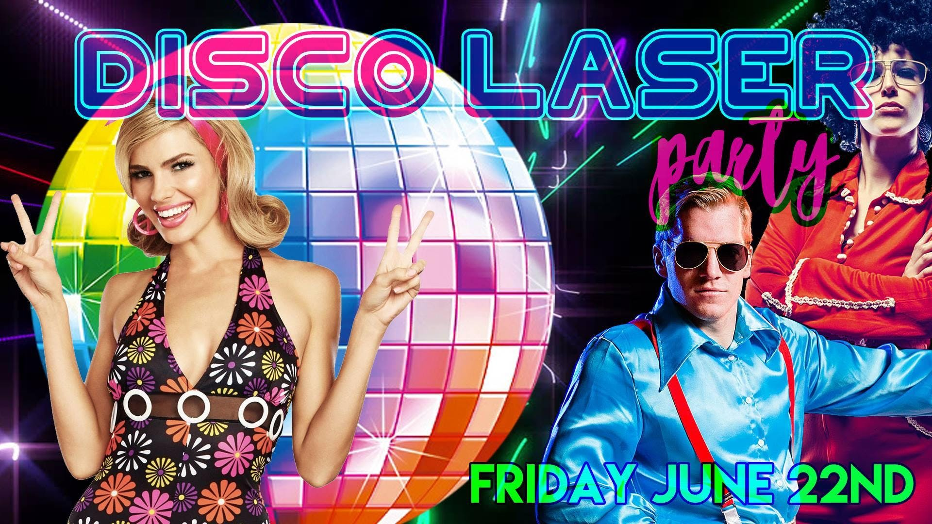 Disco Laser Dance Party