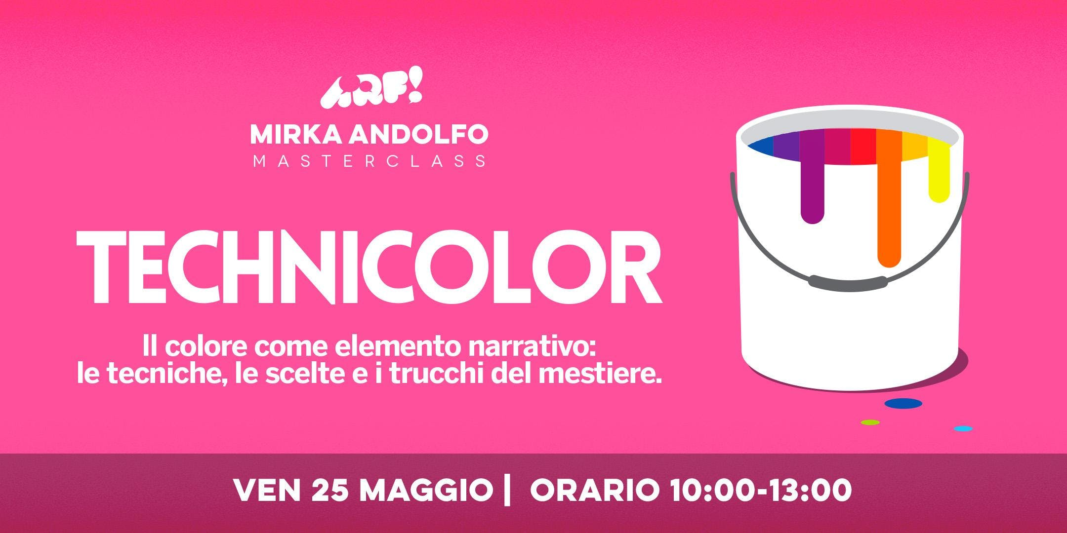 ARF! Mirka Andolfo: Technicolor