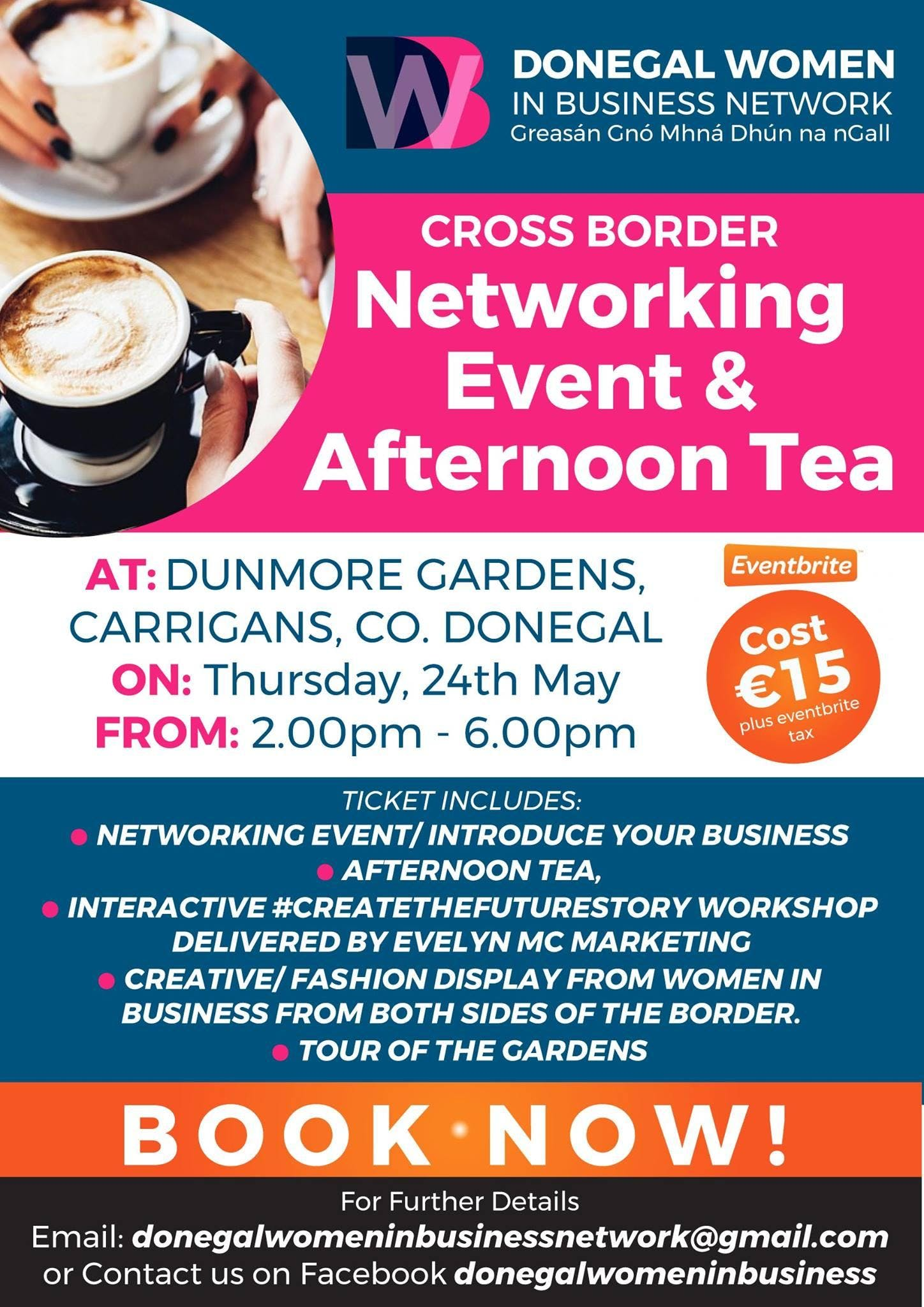 Donegal Women in Business Cross Border Networking Event & Afternoon Tea