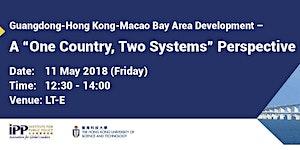 IPP Seminar: Guangdong-Hong Kong-Macao Bay Area...