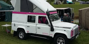 Gaydon Land Rover Show 2019 - Supported by Peter James...