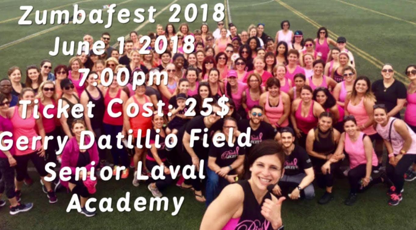 ZumbaFest 2018 Avec Maria Papadopoulos - June