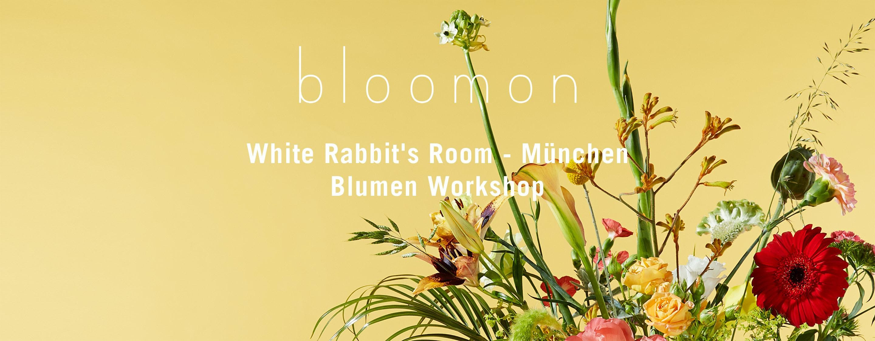 bloomon Workshop 14. Juni | München, White Rabbit's Room