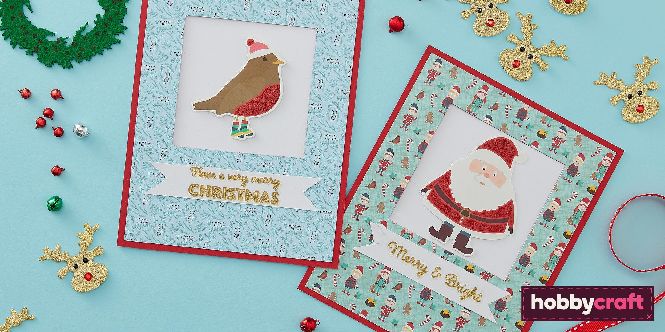 Christmas Papercraft Live: Card Making with A Holly Jolly Christmas