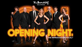 """Opening Night: The Improvised Musical"""